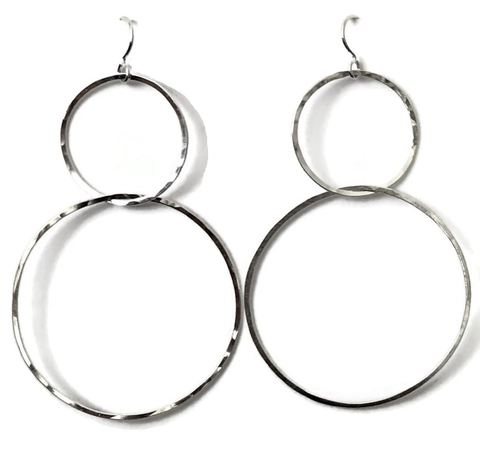 Interlock Earrings, Large