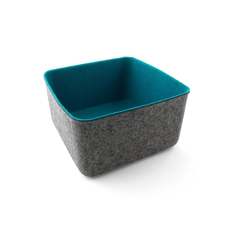 Felt Basket, Large Blue