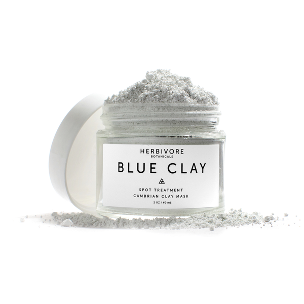 Herbivore Blue Clay Spot Treatment Dry Mask
