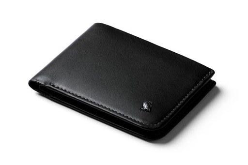 Hide and Seek Leather Wallet w RFID