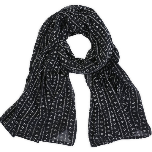 Mali Night Cotton Scarf