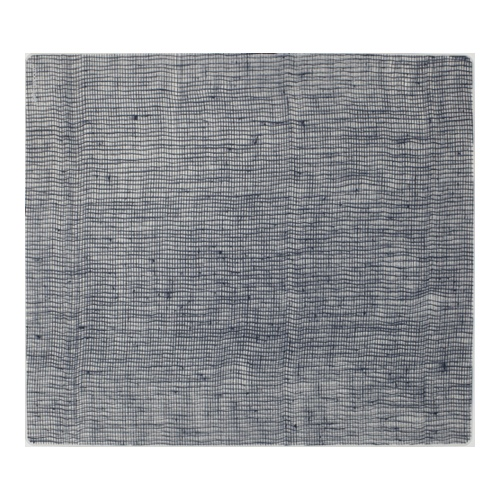 Place Mat, Linen, Denim Blue