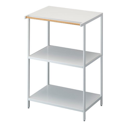 3-tier Storage Rack, White