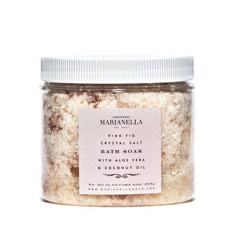 Pink Fig Crystal Salt Bath Soak