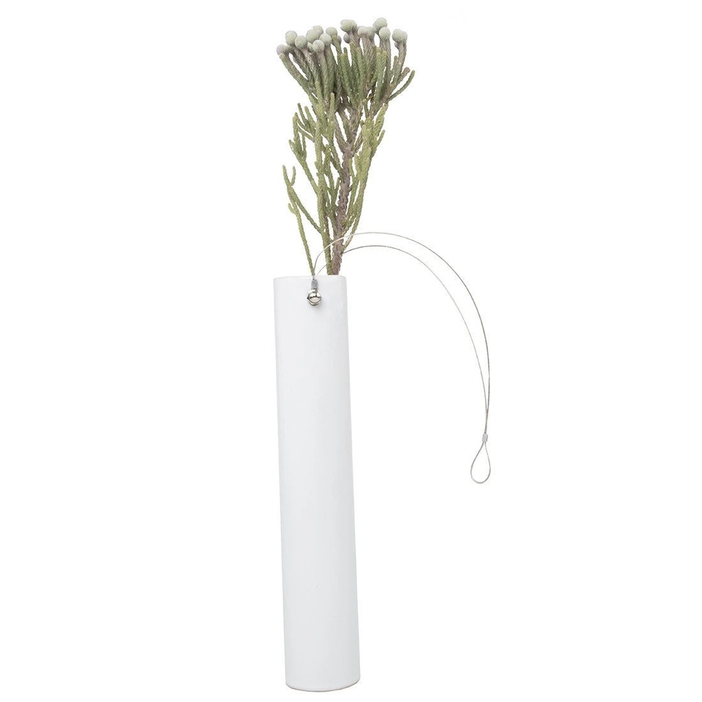Wall or Table Vase, White