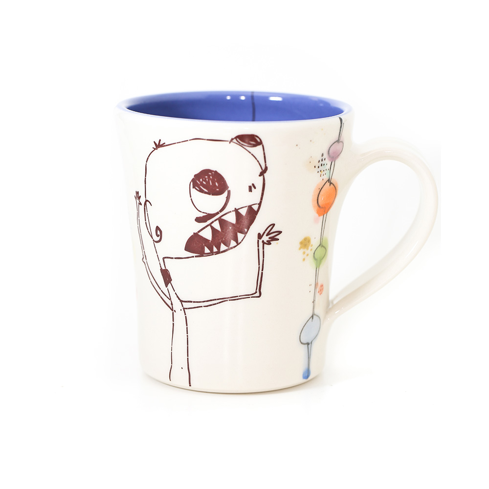 Monster Mug Blue