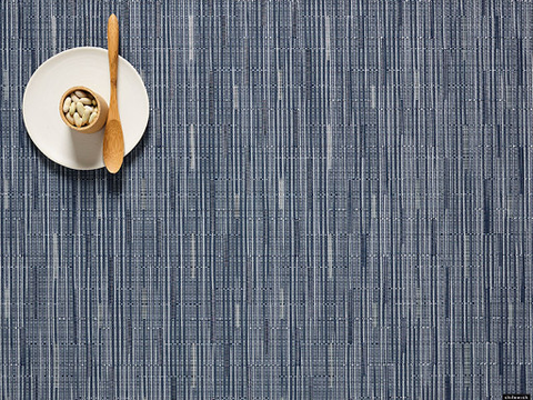 Placemat, Bamboo weave, Rain, Rectangle