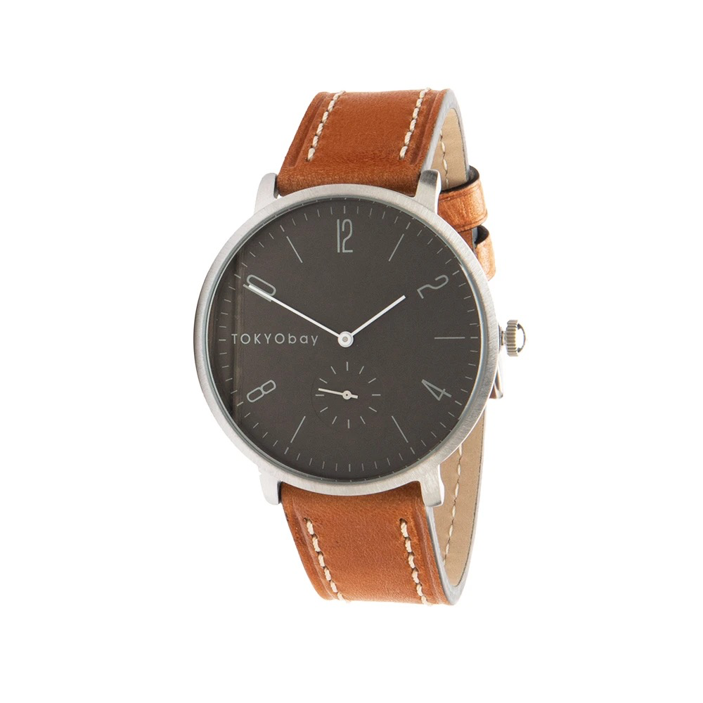 Noah Watch, Grey / Tan