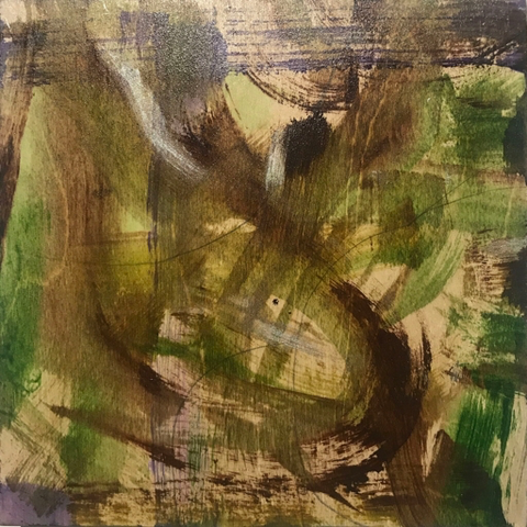 The Vines, 8x8, Frances Smersh
