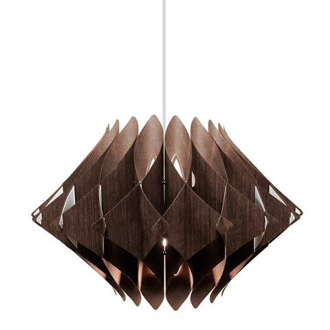 Scalar Series Swag Pendant Lamp, Wenge
