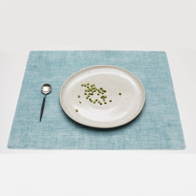 Silicone placemat, Seafoam Blue