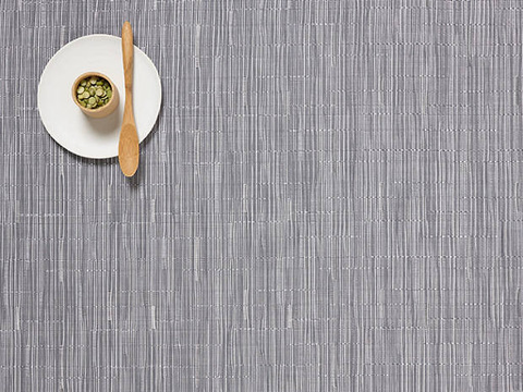 Placemat, Bamboo weave, Fog, Rectangle