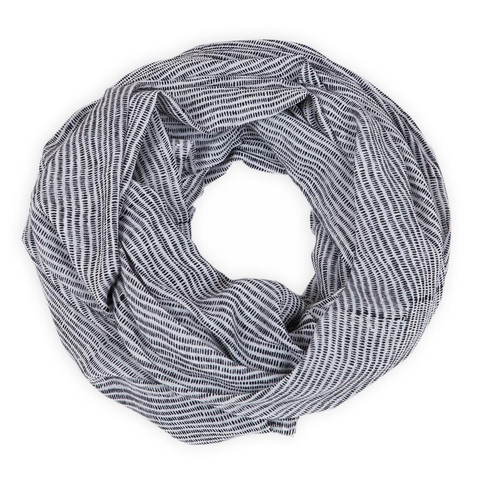 Alice Stripes Cotton Scarf