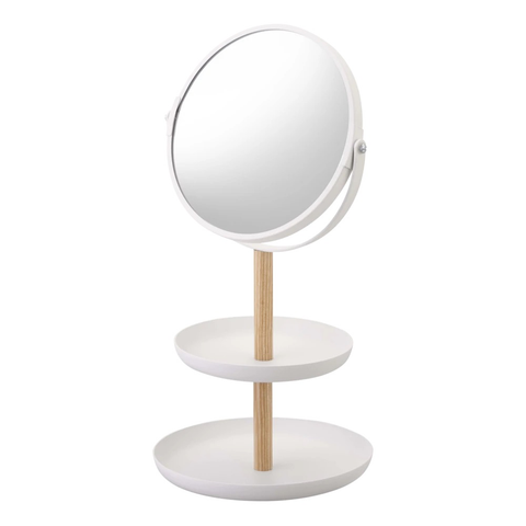 Mirror with Tray