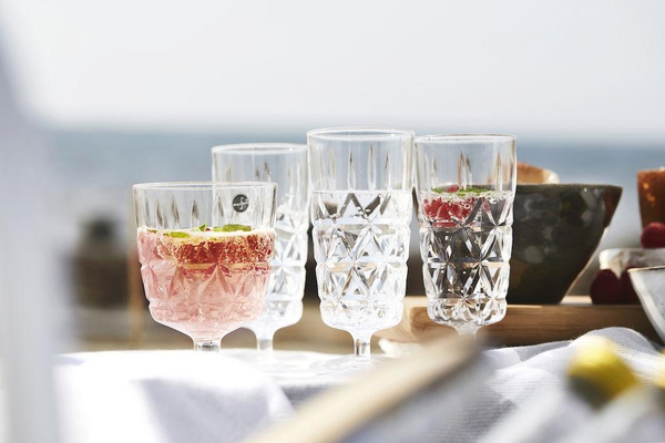 Picnic Champagne Flutes, Set of 4