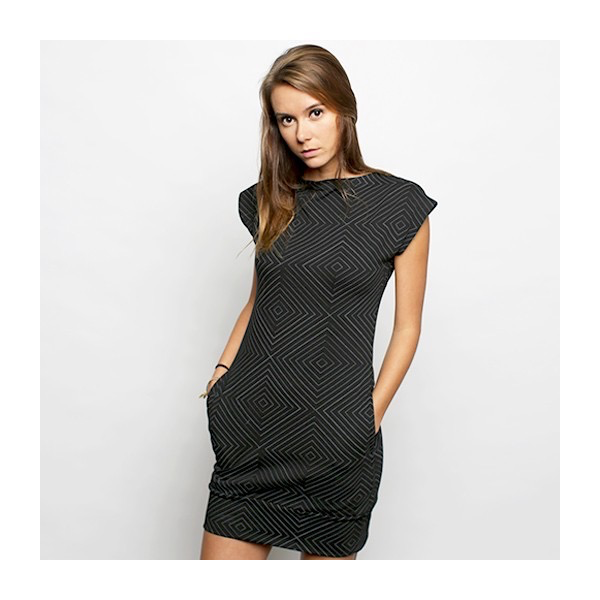 FluffyCo Mod Dress, Geometric