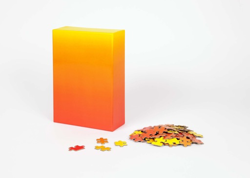 Red and Yellow Gradient Puzzle