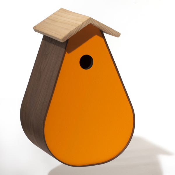 BirdHome SubUrban Walnut - Orange