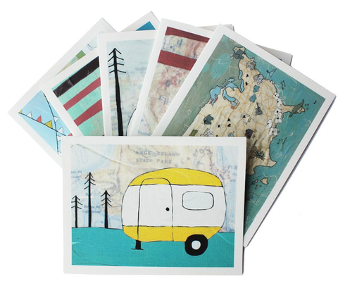 Camper Notecard Set