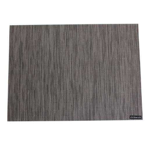 Placemat, Bamboo weave, Grey Flannel, Rectangle