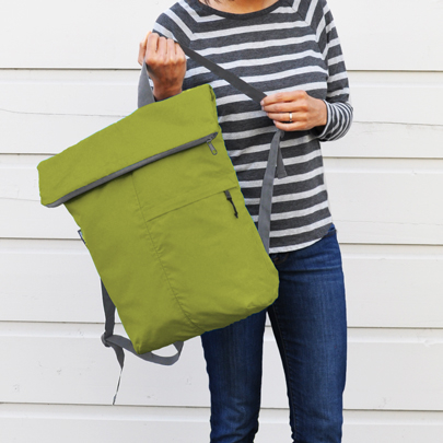 Flip & Tumble Backpack, Green
