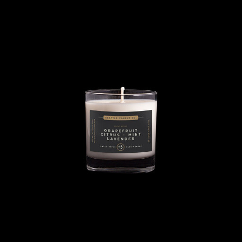 Scent No. 5, Grapefruit + Mint Candle
