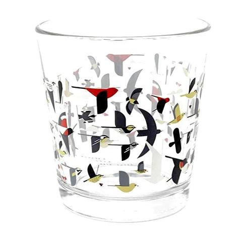 Charley Harper Migration Glass