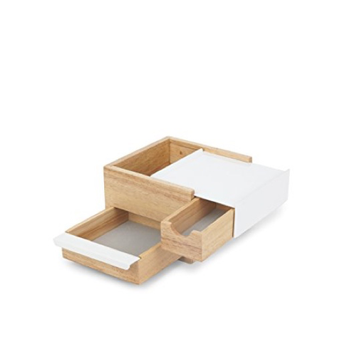 Jewelry Box, Mini, White