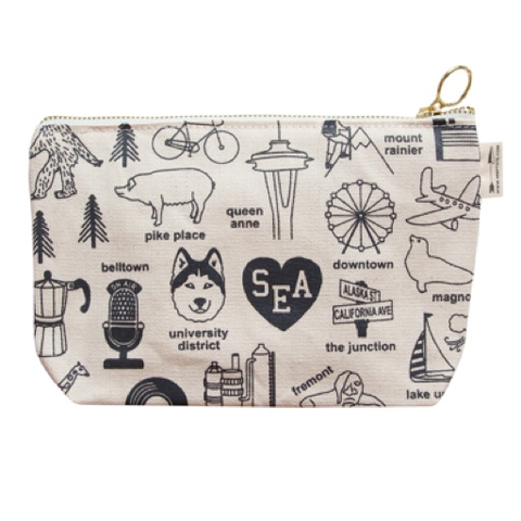 Maptote Seattle Pouch, Natural