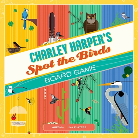 Charley Harper Spot the Birds Board Game