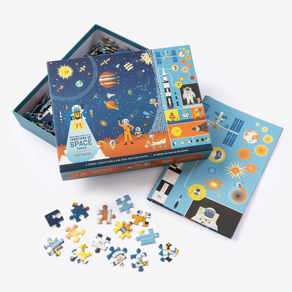 Professor Astro Cat Puzzle, 500 pieces