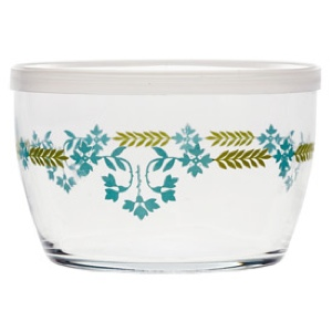 Storage Bowl, Teal Swag