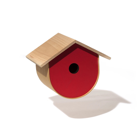 BirdHome - Urban, Red