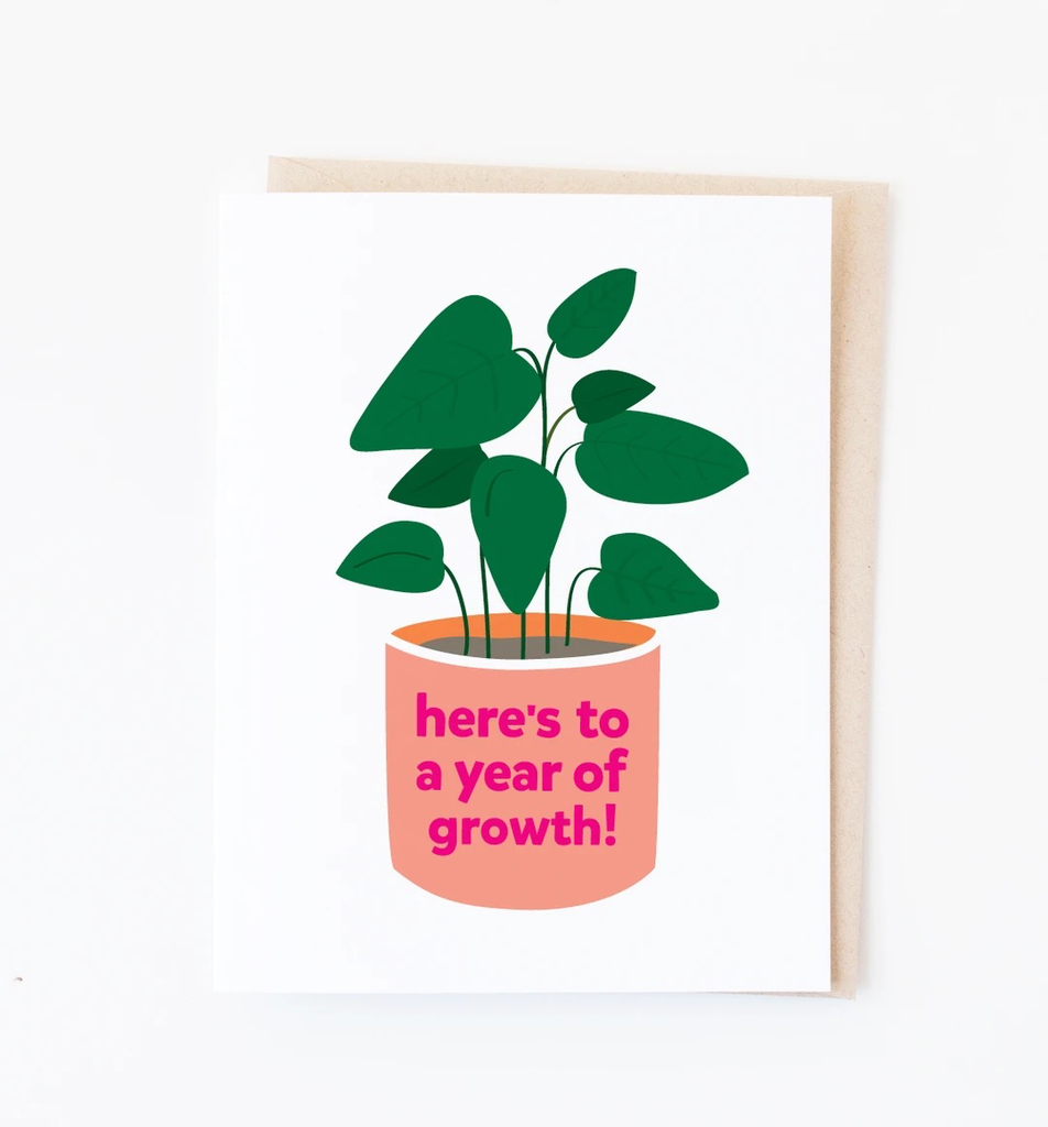Year of Growth Card