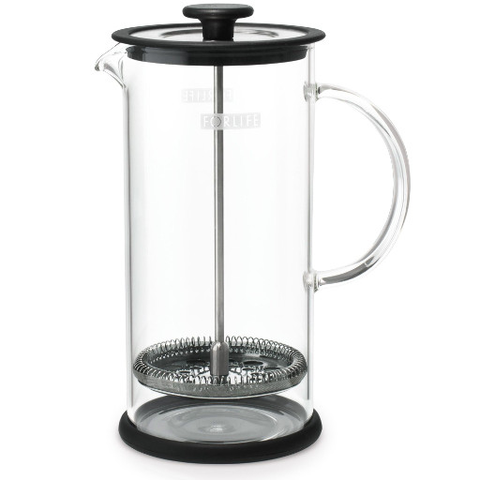 Glass Coffee and Tea Press
