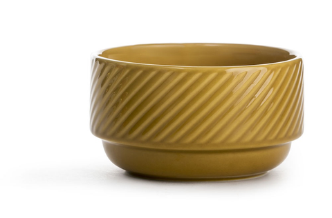 Textured Bowl - Yellow