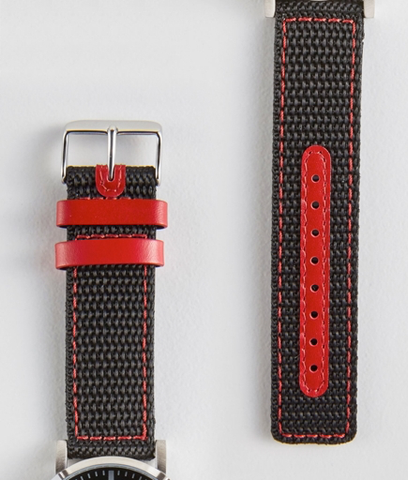 Jordan Watch, Black/Red
