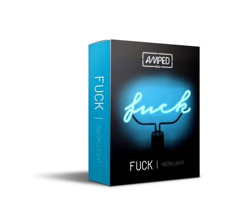 """Fuck"" Neon Desk Lamp"