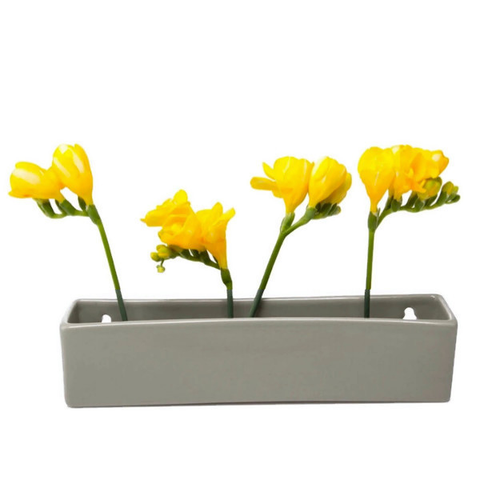 Wall Brick Planter, Grey