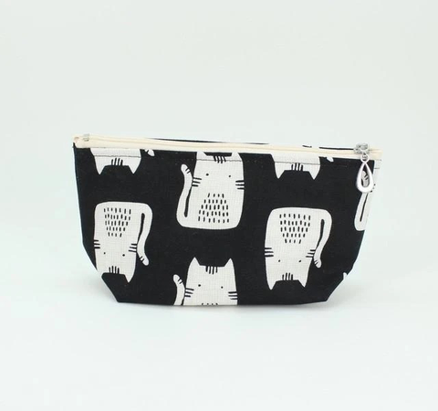 Zippered Pouch, Cats