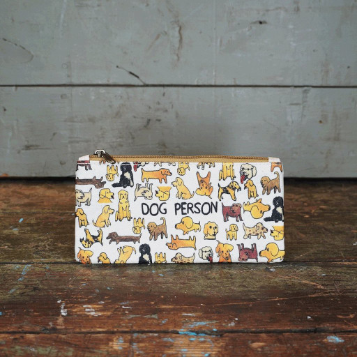 Dog Person Zippered Pouch