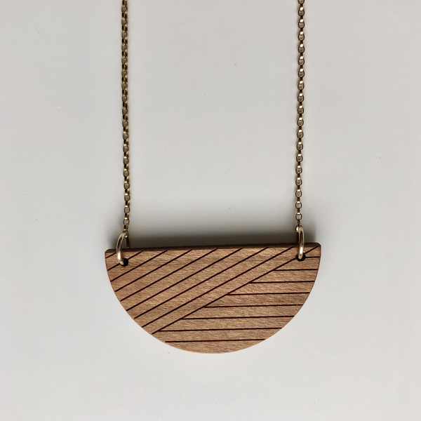 Alta Necklace, Reversible
