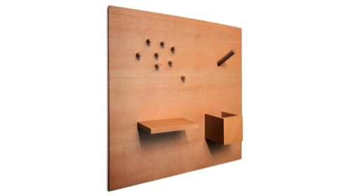 Smorgas, Magnetic Wooden Bulletin Board