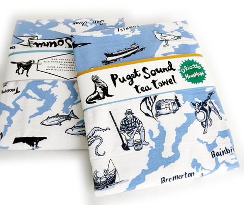 Puget Sound Tea Towel
