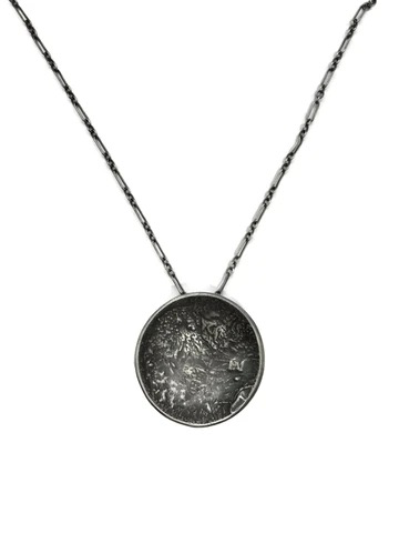 Lunar Landing Necklace, XL, Short