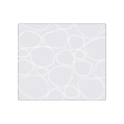 Silicone placemat, White Pebbles