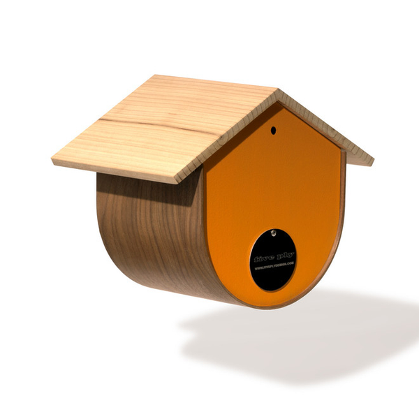BirdHome Urban Walnut - Orange