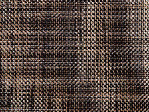 Placemat, Mini Basketweave, Dark Walnut, Rectangle