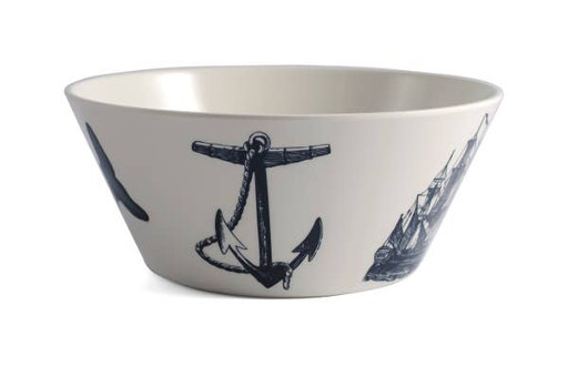 Scrimshaw Bowl, Large