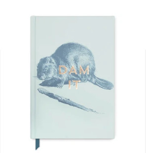 Dam It Hardcover Notebook